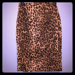Express Leopard Skirt sz. 2